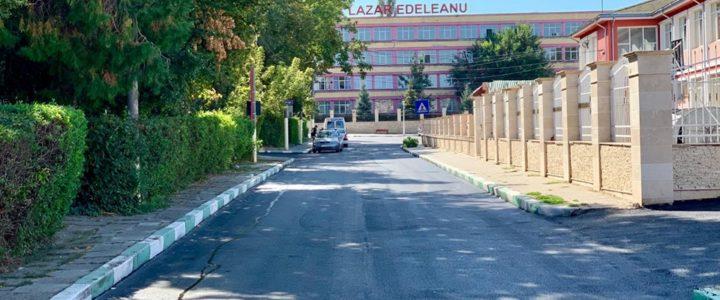 Asfaltare strada Școlii, Aleea Parcului și Aleea Dobrogei