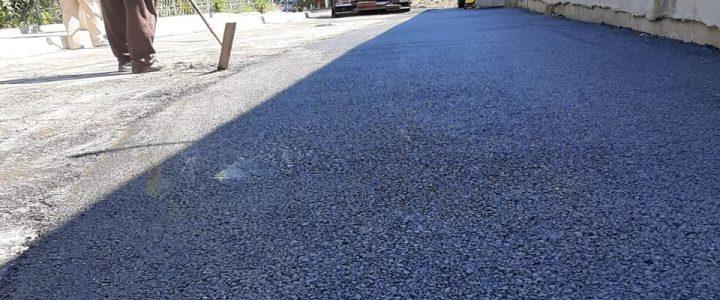 Lucrări de asfaltare în Năvodari – galerie foto (04.08.2020)