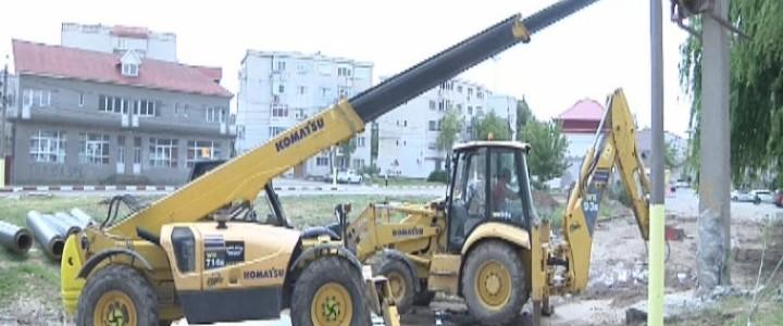 (VIDEO) Se construiește un nou parc în Năvodari