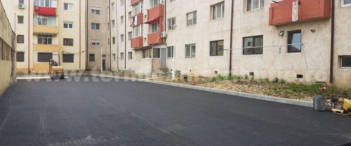 Reabilitare si asfaltare – Parcare PT7 (galerie foto)