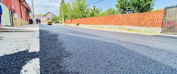 Lucrări de infrastructură în orașul Năvodari (20.05.2020)